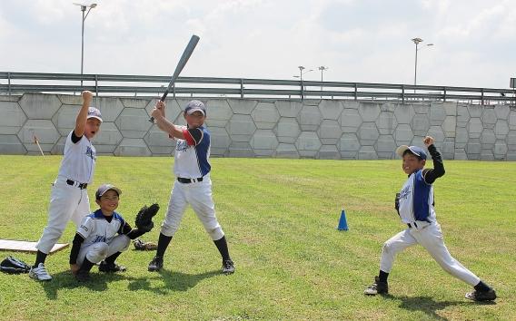 <U10>一緒に楽しく野球しましょう!