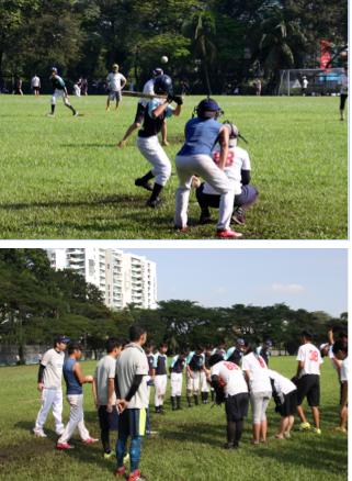 ソフトボール試合